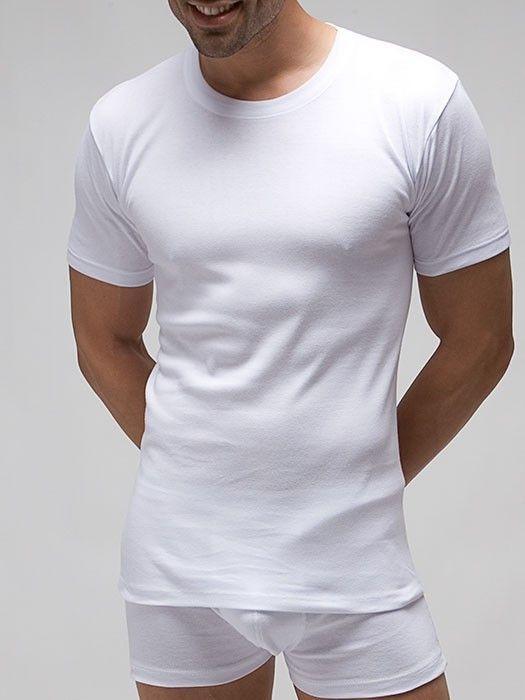 6c4a2678735a Camisetas interiores manga corta para hombre(Low Cost) Muykomodo.es